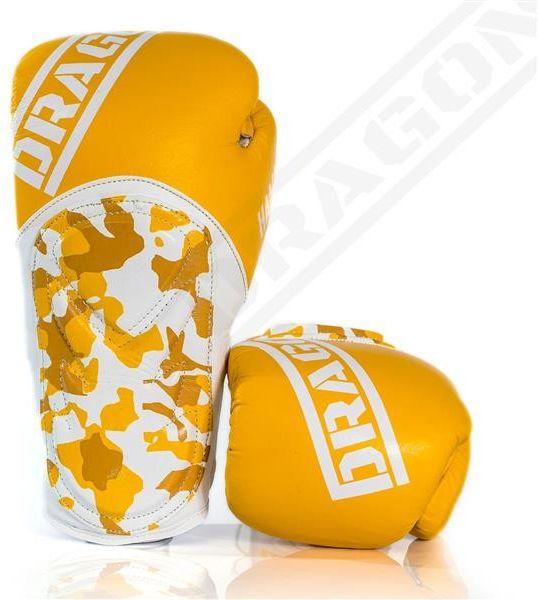 Dragon Sports rękawice bokserskie HAMMER żółte