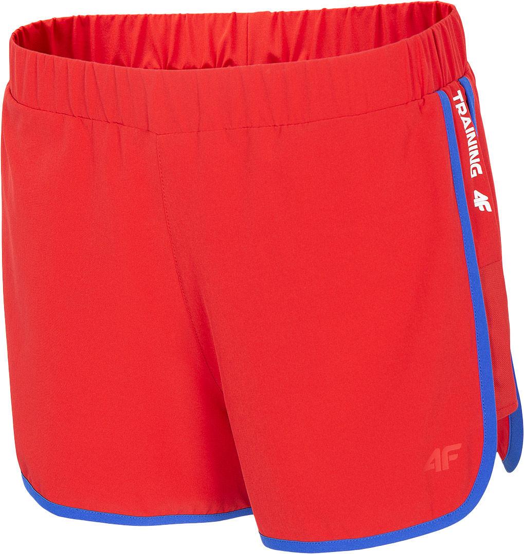 Szorty damskie 4F SKDF001 - czerwony (H4L20-SKDF001-62S)