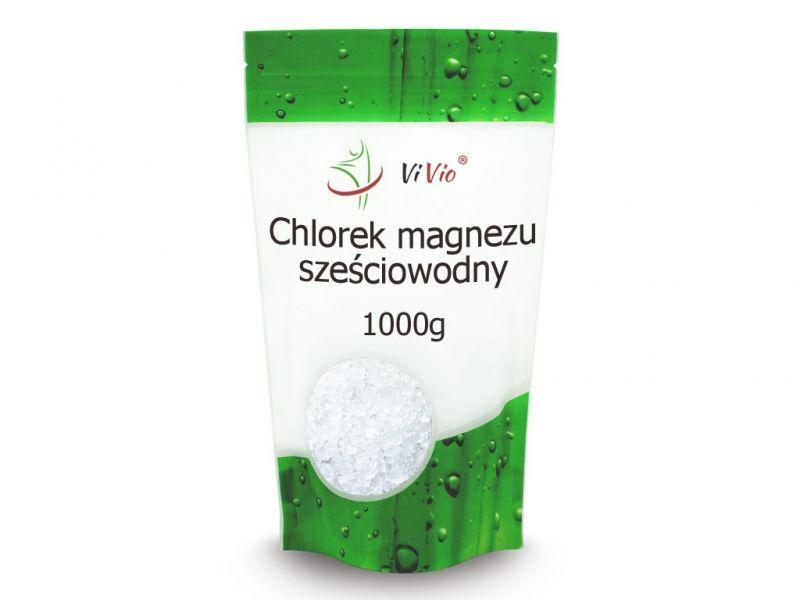 Chlorek magnezu sześciowodny 1000g VIVIO