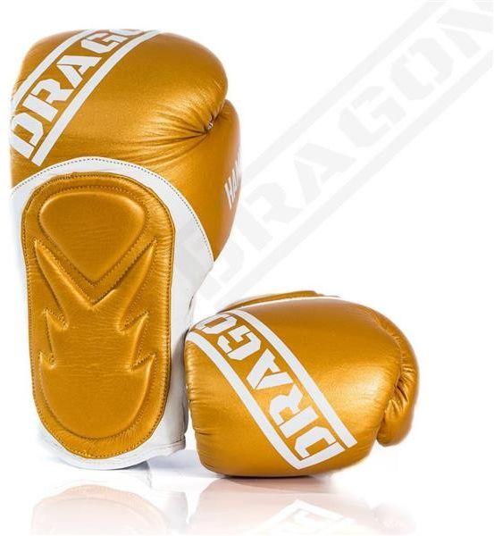 Dragon Sports rękawice bokserskie HAMMER złote