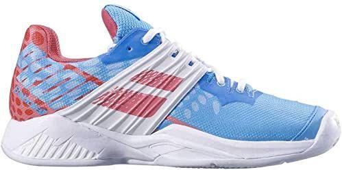 Babolat Propulse Fury Clay damskie buty do tenisa Sky Blue Pink 36.5 EU