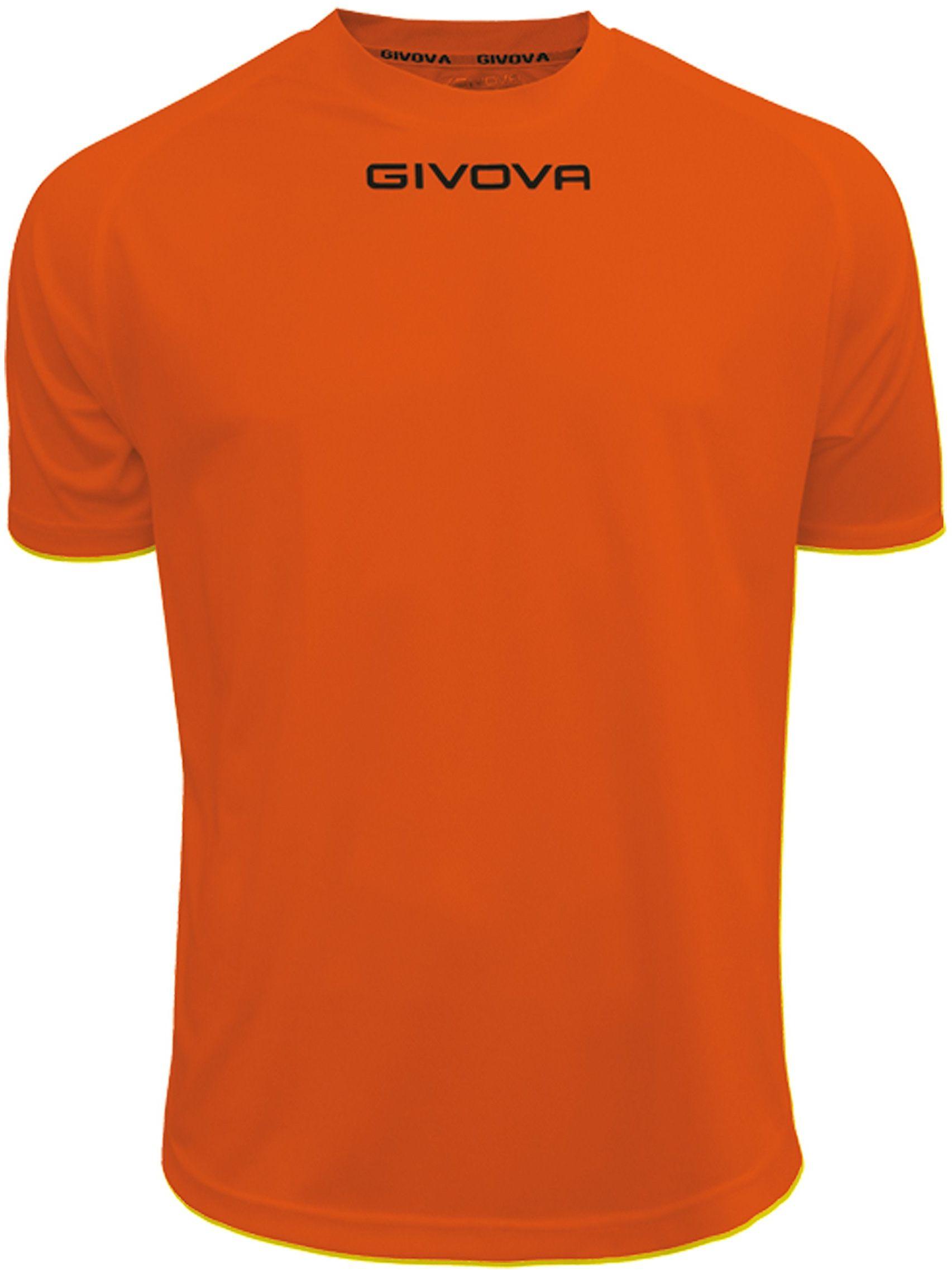 Givova - MAC01 koszulka sportowa, pomarańczowa, 2XS