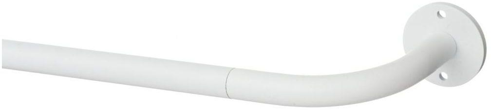 Karnisz teleskopowy 140-220 cm biały mat 19 mm Inspire