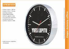Zegar reklamowy chromowany /305mm
