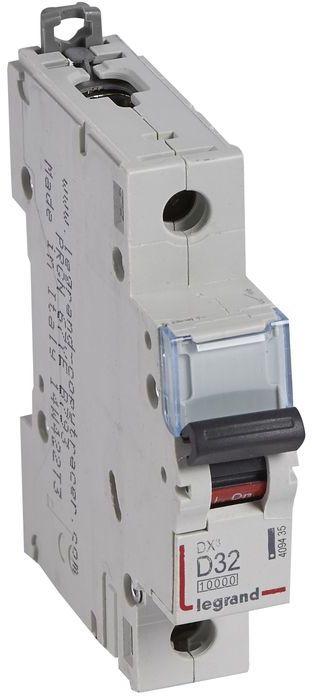 Wyłącznik nadprądowy 1P D 32A 10kA AC S311 DX3 409435
