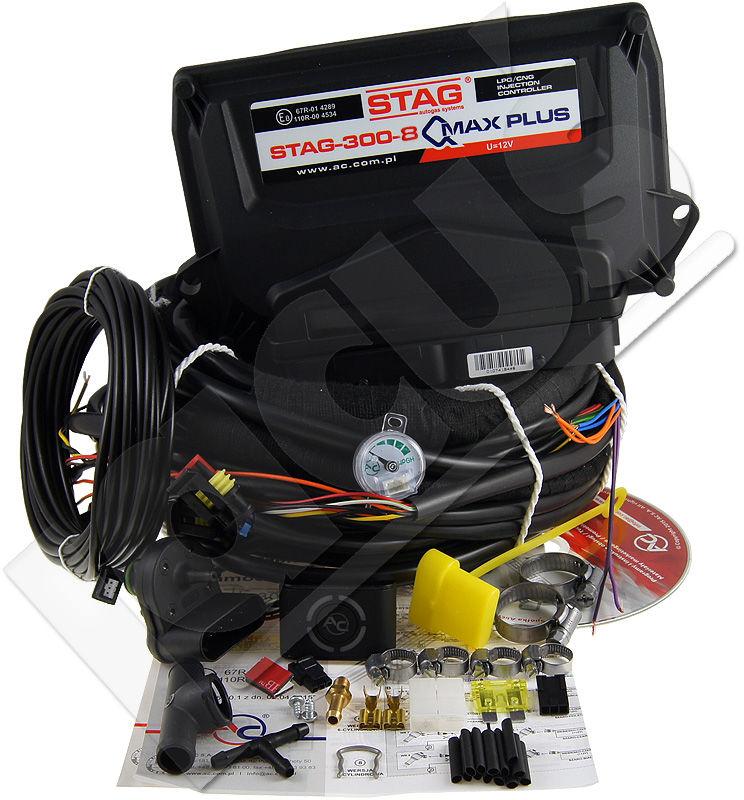 Elektronika AC STAG-300-8 QMAX Plus 8 cyl.