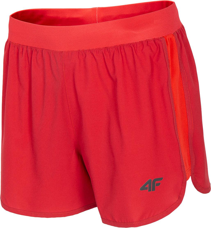 Szorty damskie 4F SKDF005 - czerwony (H4L20-SKDF005-62S)