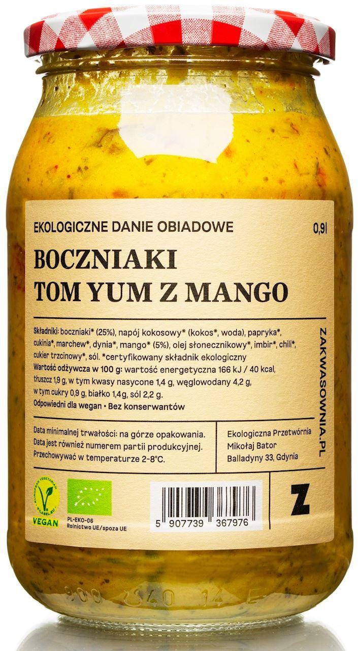 Gulasz tom-yum z boczniakami i mango bio 900 ml -zakwasownia