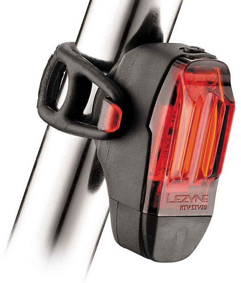 LEZYNE KTV DRIVE REAR STVZO 11 Lampka tylna, usb czarna LZN-1-LED-12R-STVZO-V204,4712806002701