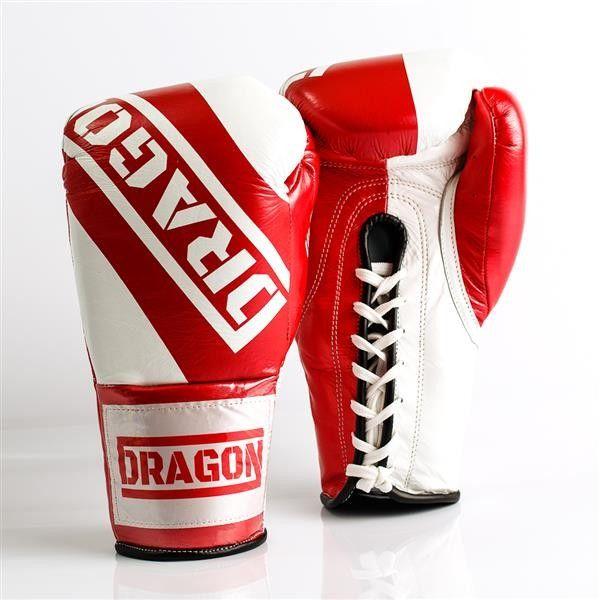 Dragon Sports rękawice bokserskie sznurowane Ultimate