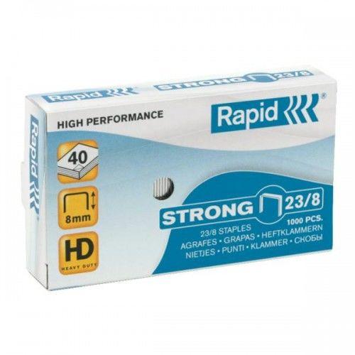 Zszywki RAPID Strong 23 / 8 1M (1000)