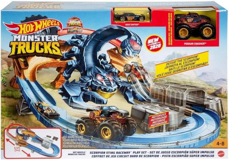 Hot Wheels Tor Skorpion Monster Truck ZAKŁADKA DO KSIĄŻEK GRATIS DO KAŻDEGO ZAMÓWIENIA