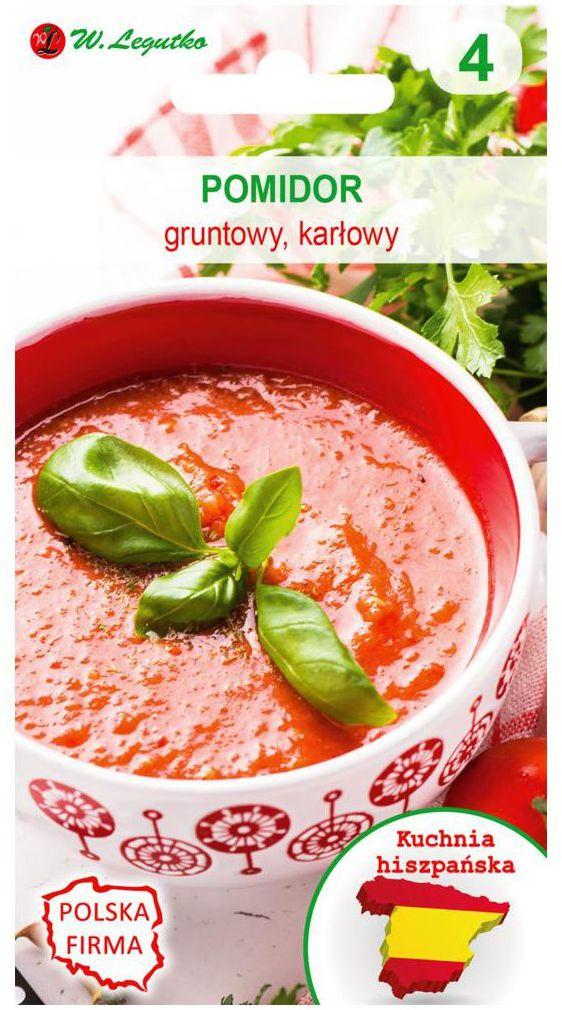 Pomidor gruntowy karłowy nasiona tradycyjne 0.5 g W. LEGUTKO