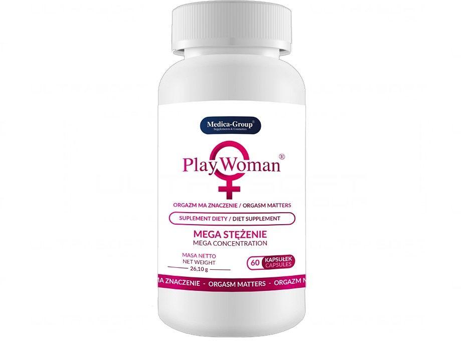 PlayWoman - tabletki wzmacniające libido orgazm