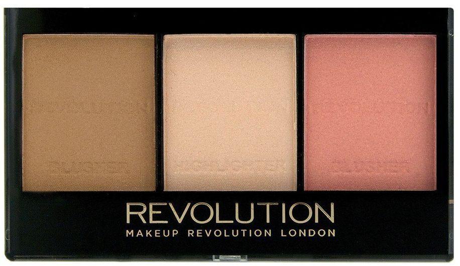 Make Up Revolution Makeup Revolution Ultra Sculp & Contour Zestaw do korygowania twarzy Kit Fair C01 11g