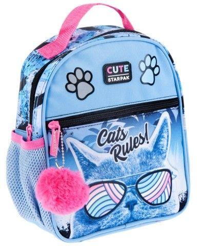 Plecak mini Cats Rules STARPAK 446614
