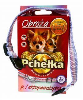 Pchełka Obroża Przeciw Ektopasożytom dla Psa Miniaturowego 35 cm