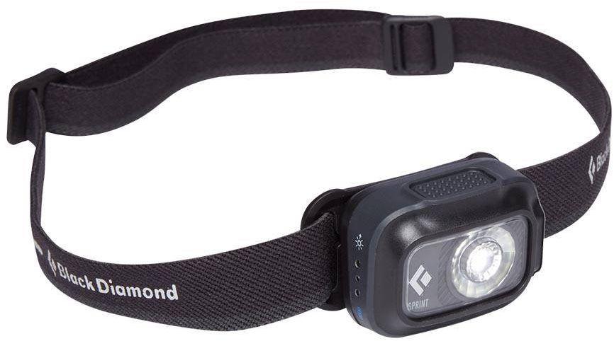 Czołówka turystyczna Sprint 225 Black Diamond - graphite