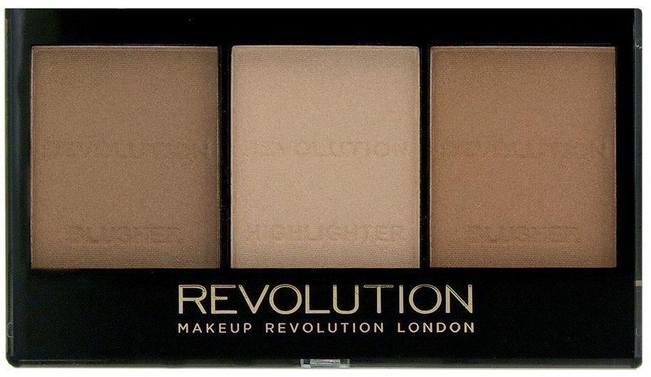 Make Up Revolution Makeup Revolution Ultra Sculp & Contour Zestaw do korygowania twarzy Kit Light-Medium C04 11g