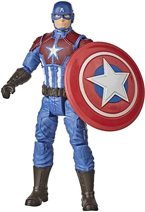 Hasbro Marvel figurka dla graczy, 15 cm wielkości Captain America, Shining Justice Armor, od 4 lat