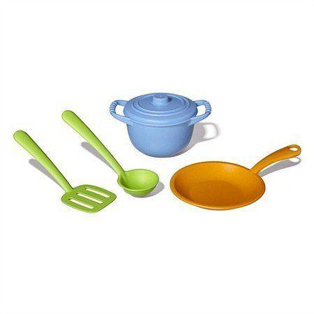 Zestaw szefa kuchni, zabawa w gotowanie, Green Toys