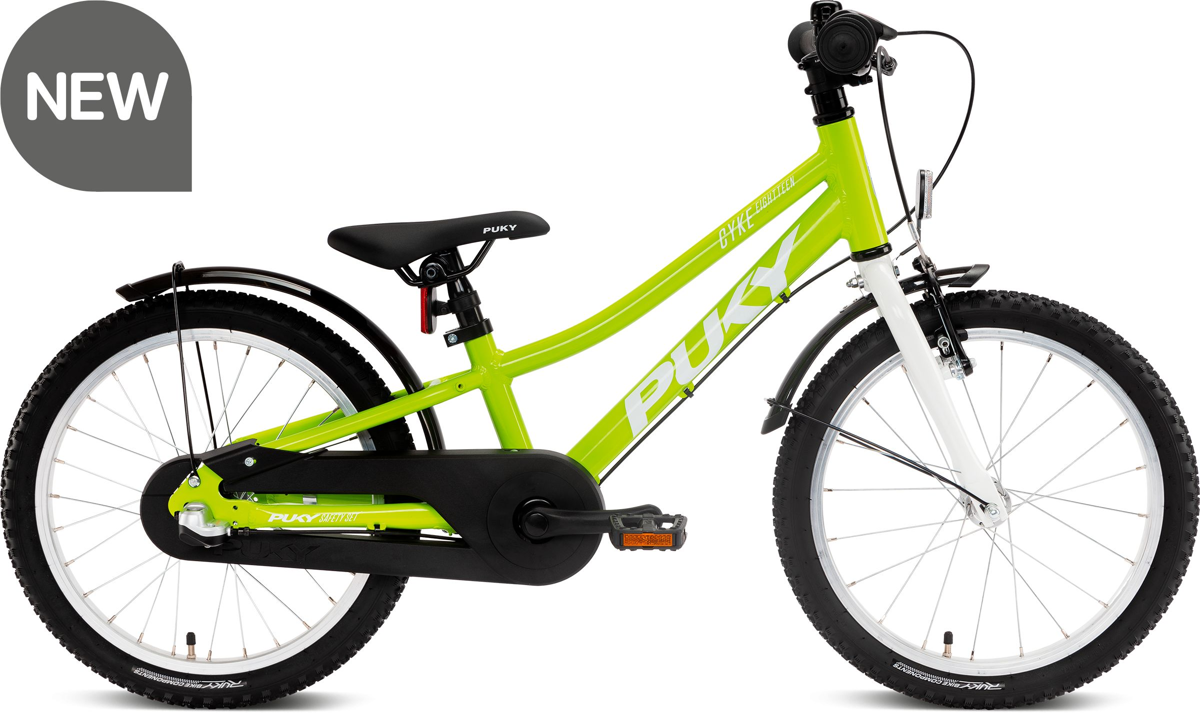 Rower Puky Cyke 18-3 Fresh green 4406