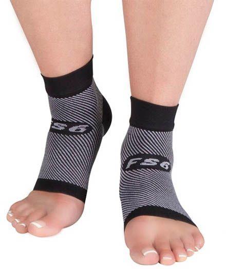 Para miękkich stabilizatorów odciążających stopę i staw skokowy z systemem kompresji strefowej - ochrona Achillesa, pomoc w leczeniu ostrogi piętowej