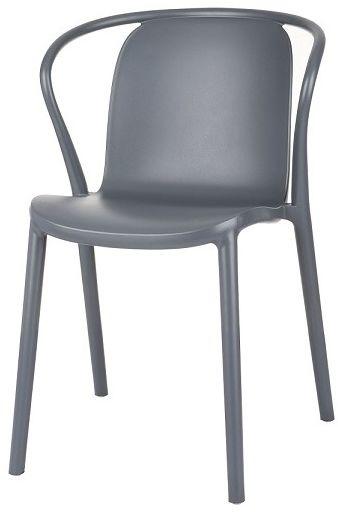 Krzesło Rozi, z plastiku, lekkie, wygodne, nowoczesne, do domu, do ogrodu