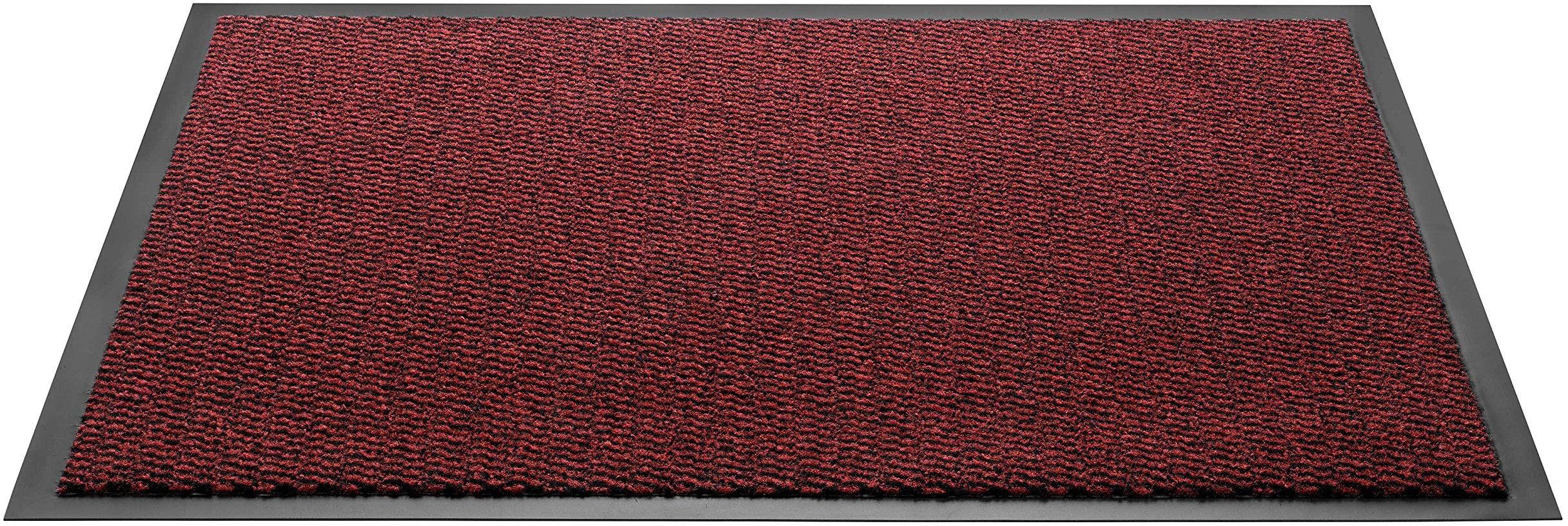 HMT Wycieraczka z polipropylenu, czerwona, 40 x 60 cm