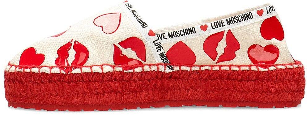 Love Moschino - Espadryle Damskie - JA10373G0AJMS100