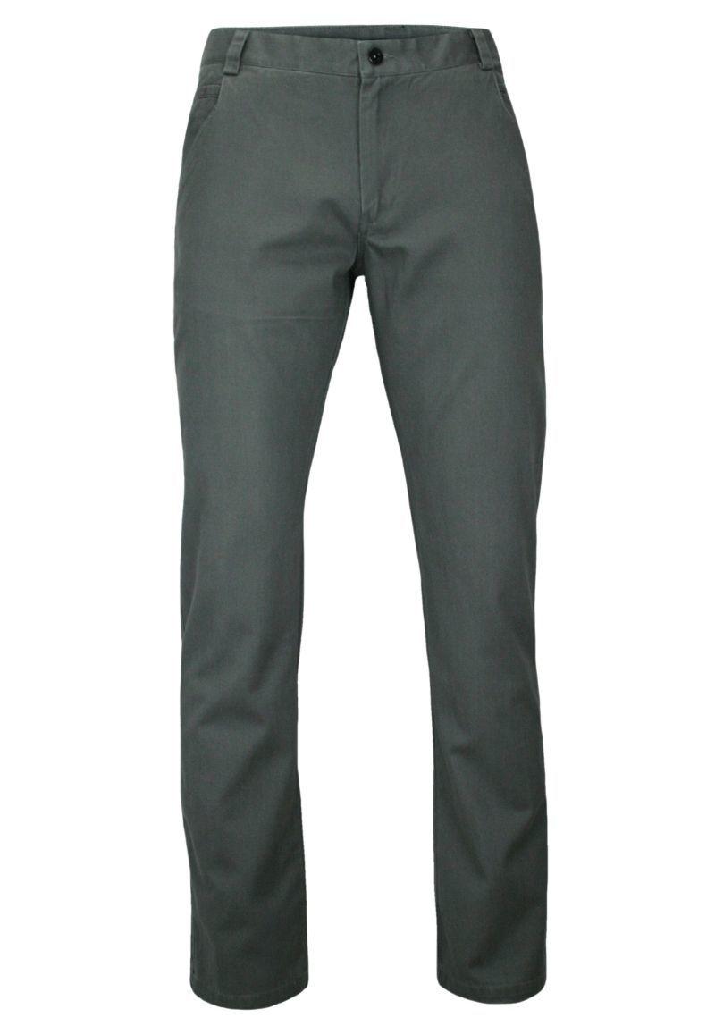 Popielate Eleganckie, Męskie Spodnie, 100% BAWEŁNA -CHIAO- Chinosy, Szare SPCHIAOM2B03popiel