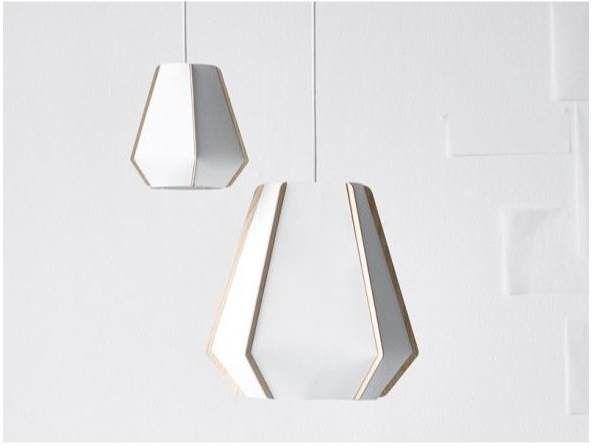 Lampa wisząca Lulla By P1 Light Years biała papierowa lampa wisząca