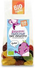 Galaretki owocowe bez żelatyny BIO 100 g Biominki