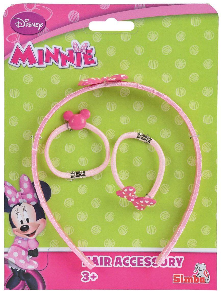 Simba 107051690 Minnie Mouse akcesoria do włosów