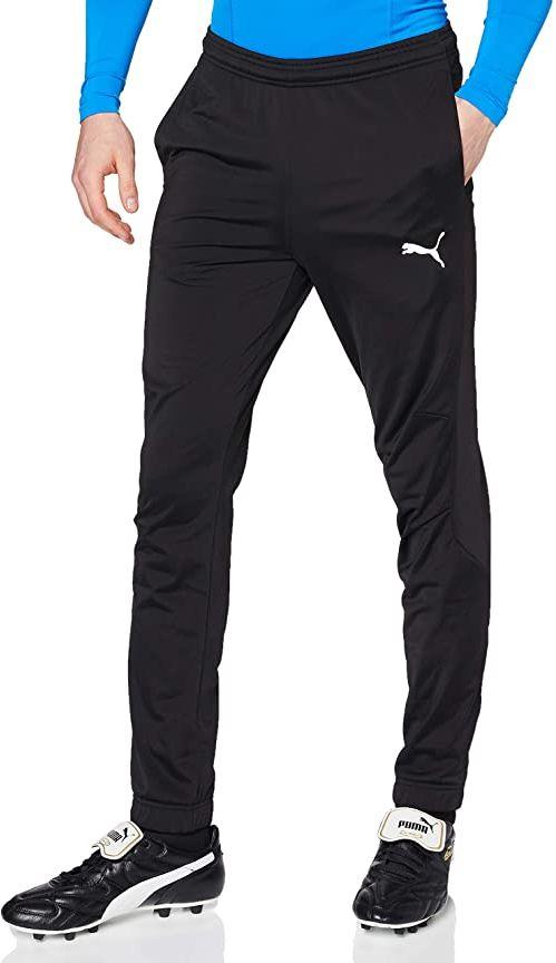 PUMA męskie spodnie dresowe Liga Sideline Poly Core Puma Black-puma White 3XL