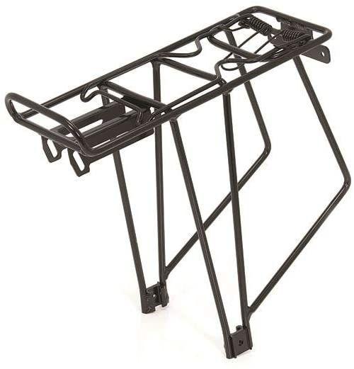 XLC RP-R08 bagażnik rowerowy dla dorosłych, unisex, czarny, rozmiar 24-28
