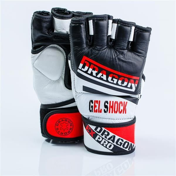 Dragon Sports rękawice MMA Expro skóra