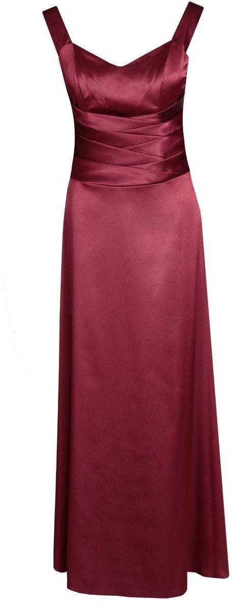 Sukienka FSU1027 BORDOWY