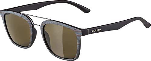 ALPINA Unisex - Dorośli, CARUMA I Okulary przeciwsłoneczne, brown-grey matt/brown, One Size