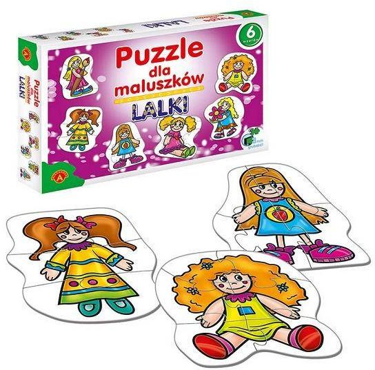 Puzzle dla maluszków - lalki ALEX - Alexander