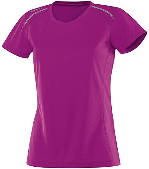 JAKO Run T-shirt damski wielokolorowa Fuchsia 34-36
