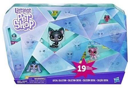 Littlest Pet Shop - Kryszatłowa kolekcja Zestaw 19 figurek E2323