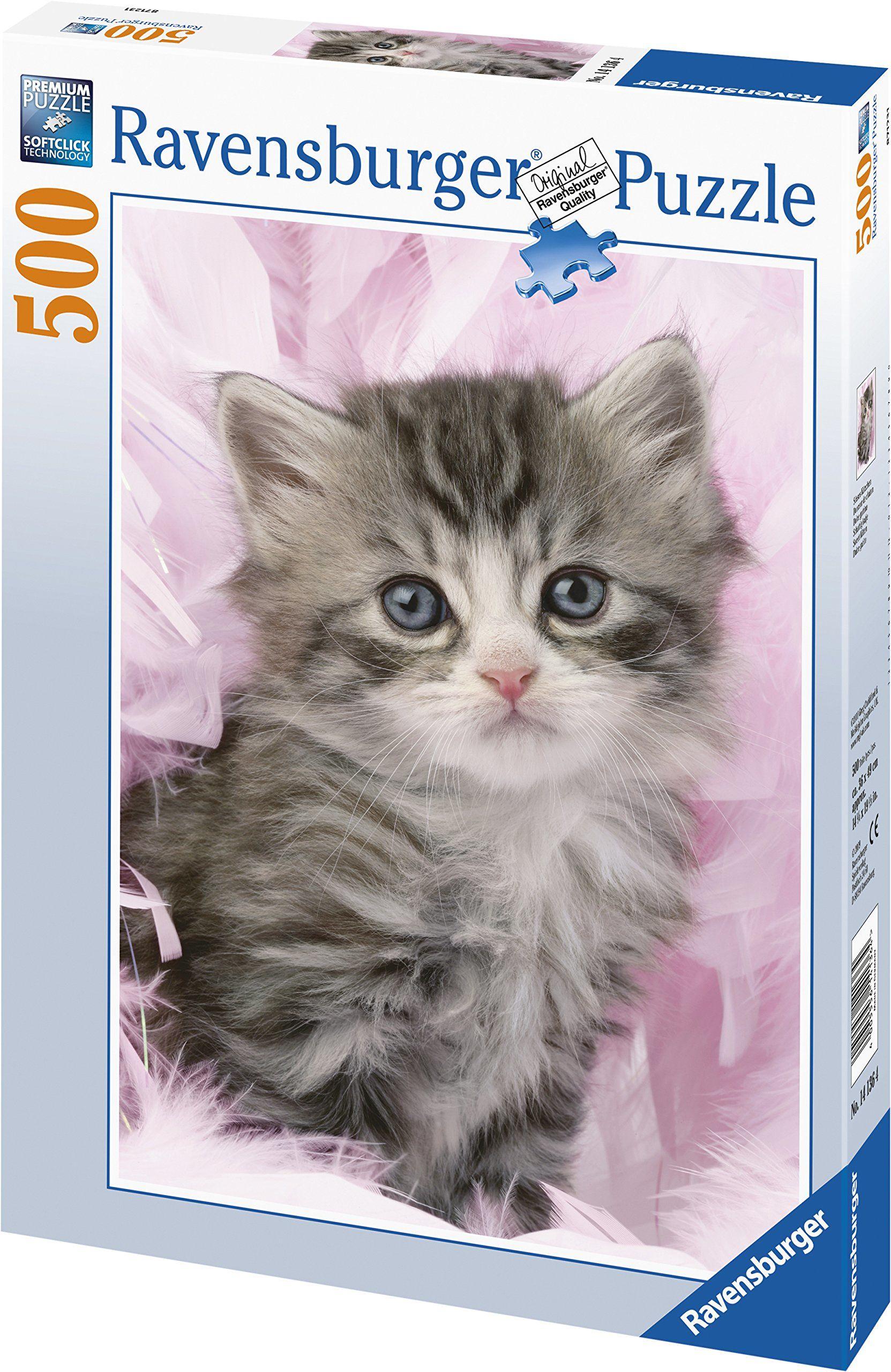 Puzzle 500 części - słodki kotek - Ravensburger 14136