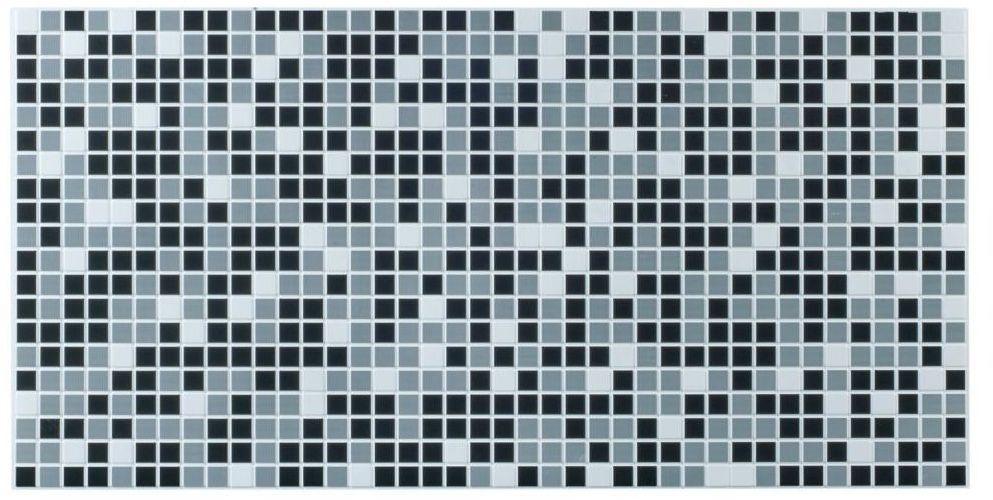 Panel ścienny PCV Mozaika szara