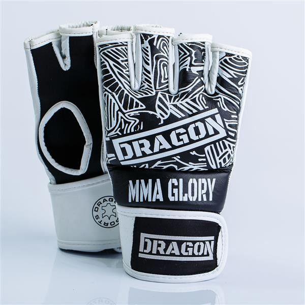 Dragon Sports rękawice MMA Glory czarne