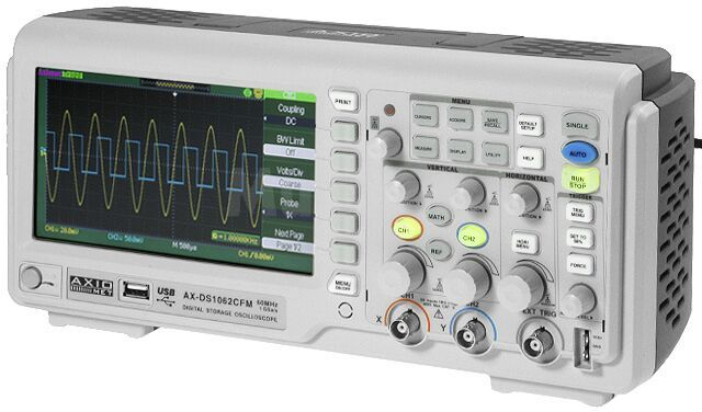 Oscyloskop cyfrowy DSO LCD 7 60MHz 1GSa/s