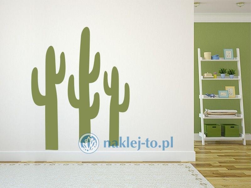 naklejka kaktusy naklejka