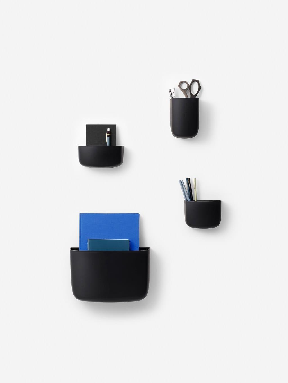 Organizer Ścienny Pocket 2 Czarny