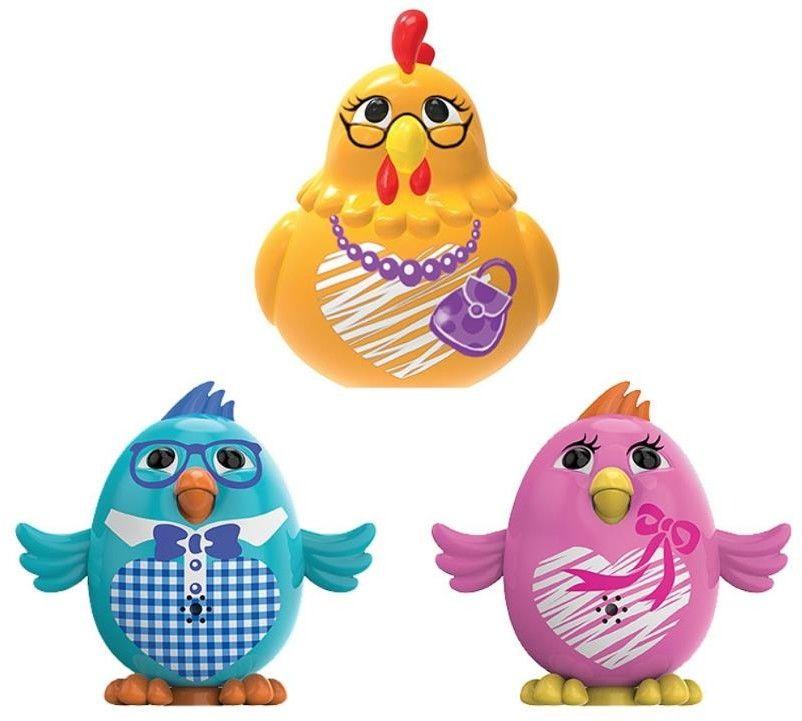 DigiChicks - Żółta kura z rodzinką 88389 A