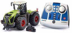 siku 6794, Claas Xerion 5000 TRAC VC Traktor, zielony, metal/tworzywo sztuczne, 1:32, zdalnie sterowany, w zestawie pilot Bluetooth, możliwość sterowania przez aplikację